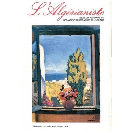 L'Algérianiste N°65
