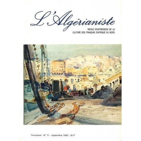 L'Algérianiste N°71