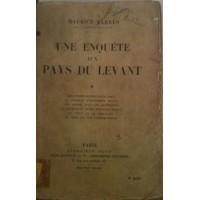 Une enquête aux Pays du Levant (Tome 1)