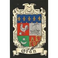 "Carte postale ""Blason d'Oran"""