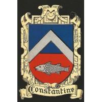 "Carte postale ""Blason de Constantine"""