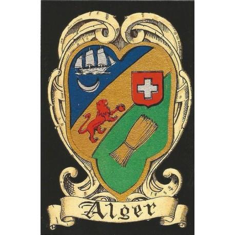 "Carte postale ""Blason d'Alger"""