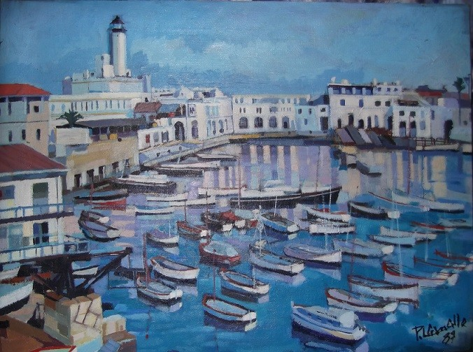 Peinture Port D Alger