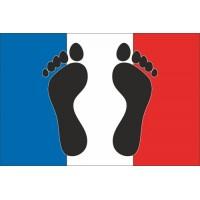 Drapeau français - Pieds-Noirs 20x30