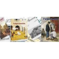 """Lot de 44 numéros """"L'Algérianiste"""" (2000 à 2010)"""