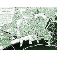 Plan des rues d'Oran et proche banlieue, 1952