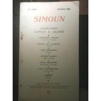 Revue littéraire SIMOUN - N°32