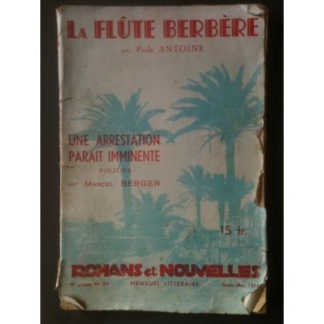 """La Flûte Berbère - Mensuel littéraire """"Romans et Nouvelles"""" N°54"""