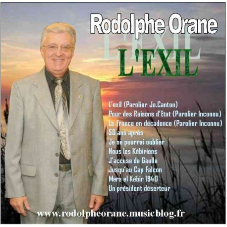 L'Exil - Rodolphe Orane