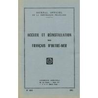 Accueil et réinstallation des Français d'Outre-Mer