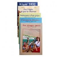 La Famille Dieudonné en Algérie - BD en 5 Tomes (Série complète)