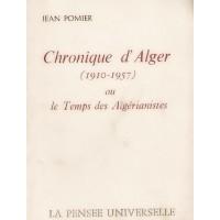 Chronique d'Alger (1910 - 1967)