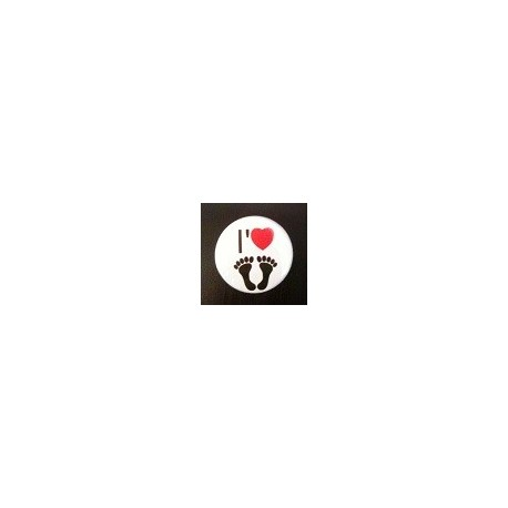 Badge I love Pied-Noir