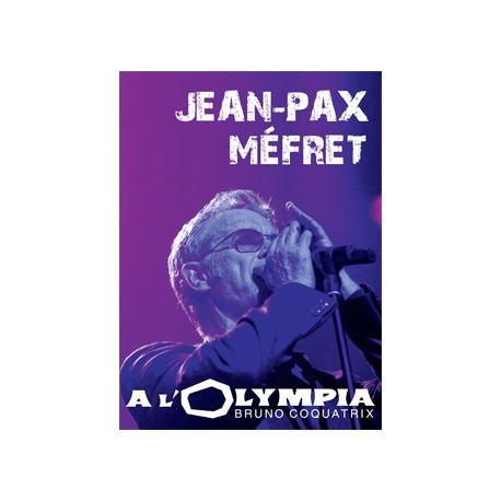 DVD Jean-Pax Méfret à l'Olympia