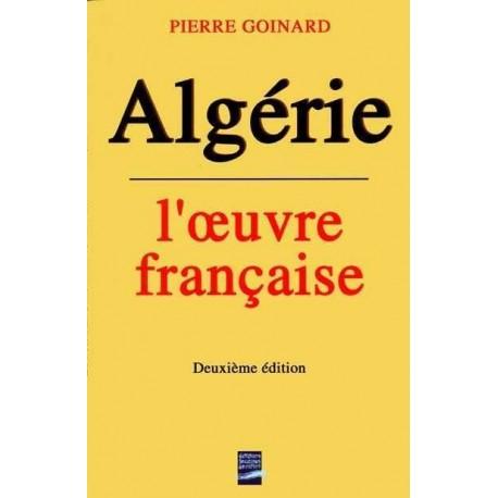 Algérie, l'oeuvre française