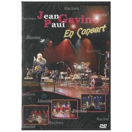 Jean-Paul Gavino en concert